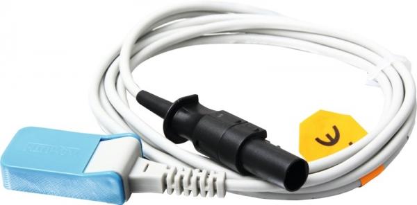 Adapterkabel auf Nellcor mit Montagestecker Spacelabs