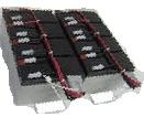Akku für USV-Anlagen passend für APC RBC12, 12V/7,2Ah