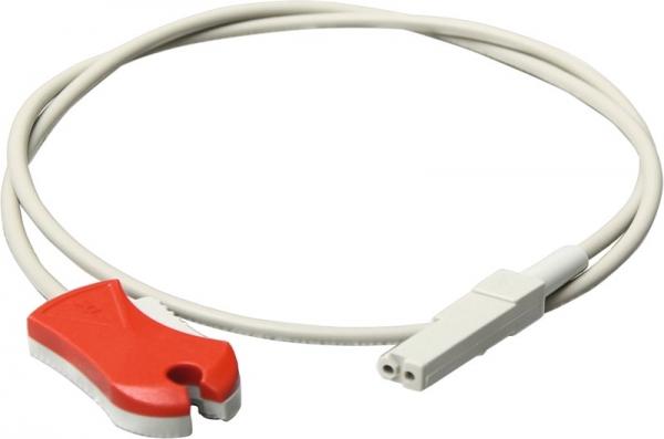Patientenleitung mit Klammer (rot)