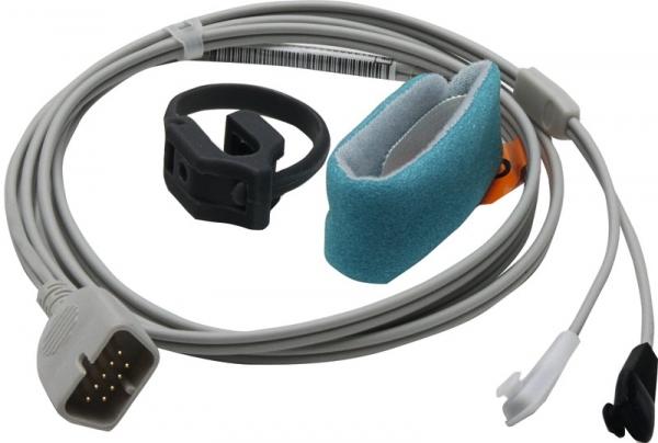 SpO2-Sensor für Nihon Kohden, Wrap-Sensor