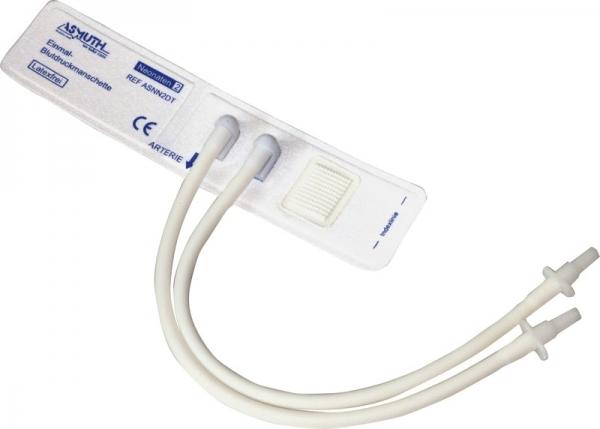 Neonatenmanschette mit Male-Luer-Anschluss Größe 2,VE: 10