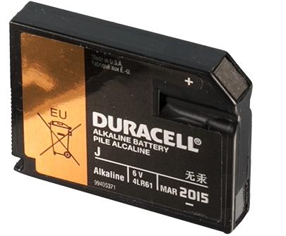 Knopfzelle IEC-Norm 4/LR61