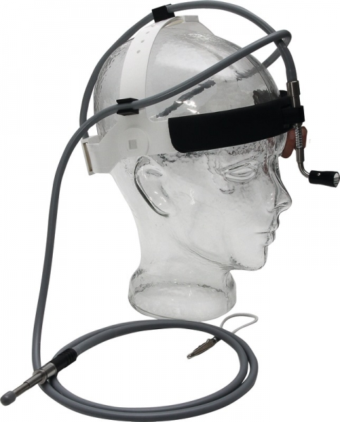Stirnlampe mit Fokussieroptik flexibel