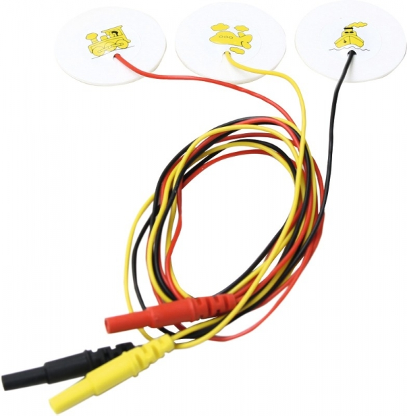 Mikropore Einmal-EKG-Elektrode