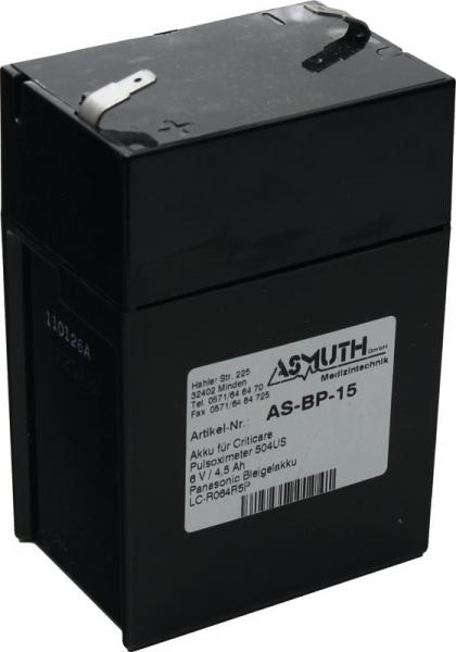 Panasonic Bleigelakku LC-R64R5P, 6V, 4,5Ah