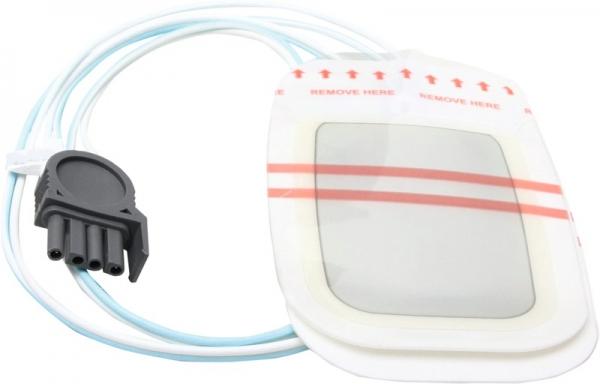 Defi-Elektroden-Paar f. Erw. für Physio Control