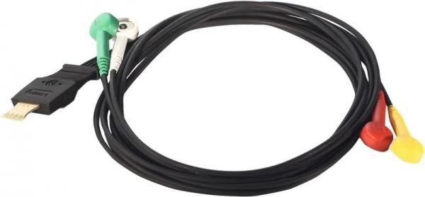 Original Schiller Langzeit-EKG-Kabel,4adrig zu MT-101