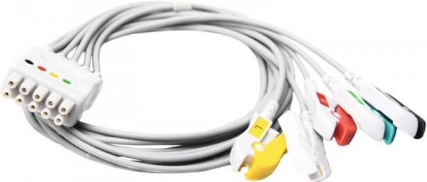 Einmalpatientenleitung 5-adrig kompatibel zu GE