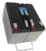 Akku für USV-Anlagen passend für APC RBC9, 12V/7,2Ah