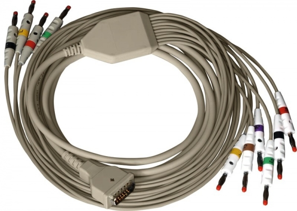 Diagnose-EKG-Kabel zu Bosch, 10adrig