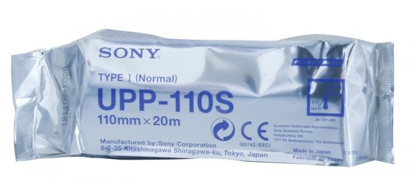 Video-Printerpapier Orig. Sony UPP110S