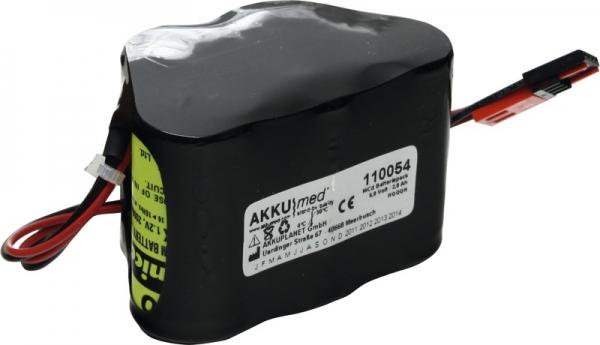 Akku für Schiwa/MGVG Schiwamatic 7000/9000