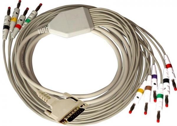 10 adriges Diagnose-EKG-Kabel
